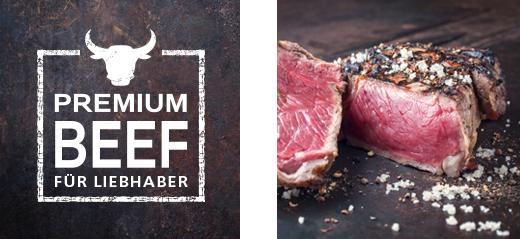 Dry Aged Steaks Premium Beef